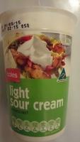 Light Sour Cream - Produit - en
