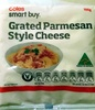 Grated Parmesan Style Cheese - Produit