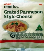 Grated Parmesan Style Cheese - Product - en