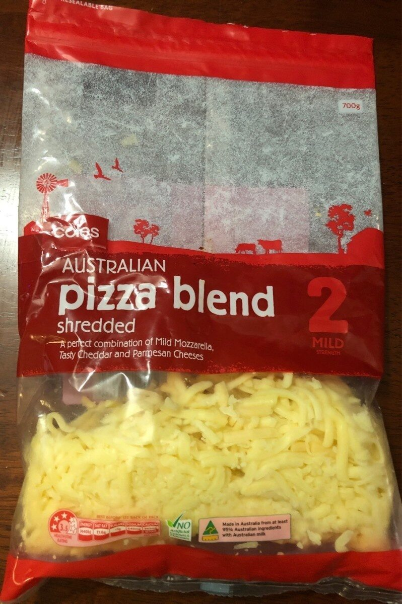 Pizza blend shredded cheese - Product - en