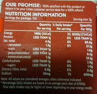 Spreadable Buttery Blend - Nutrition facts