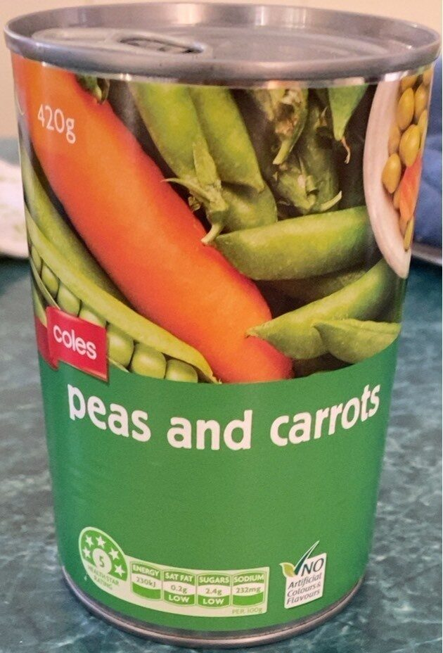Peas and Carrots - Product - en