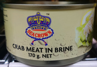 Seacrown Crab Meat in Brine - Product