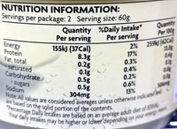 Seacrown Crab Meat in Brine - Nutrition facts