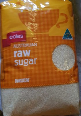 Coles Australian Raw Sugar - Product