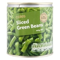 Coles Green Sliced Beans - Product - en