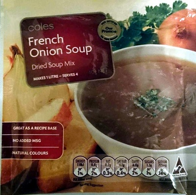 French Onion Soup Dried Soup Mix - Product - en