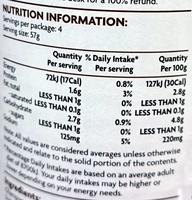 Coles Pieces & Stems Champignons - Nutrition facts