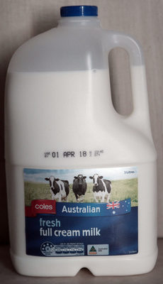 Fresh Full Cream Milk - Product