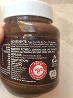 Hazelnut Spread - Ingredients - en