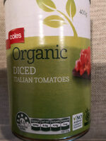 Organic diced Italian Tomatoes - Product