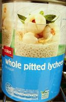 Whole Pitted Lychees - Product - en