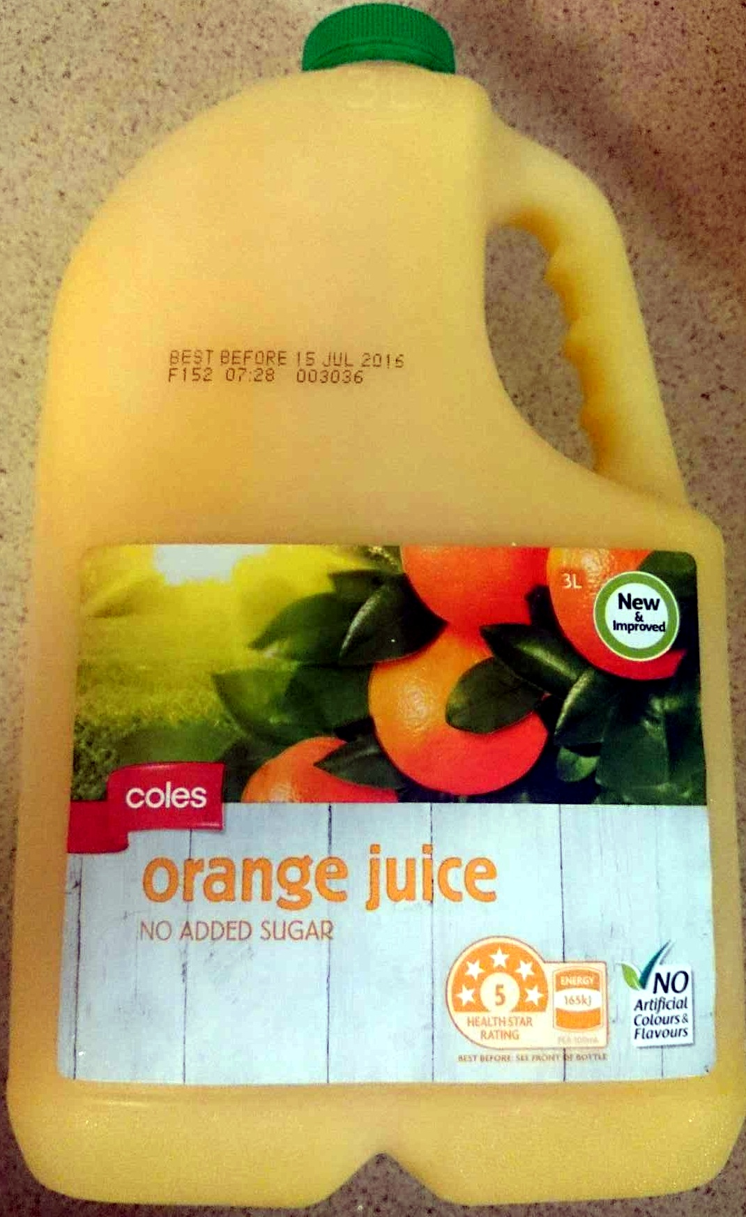 Orange Juice - Produkt - en