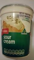 sour cream - Product - en