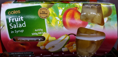 Coles Fruit Salad in Syrup - Product