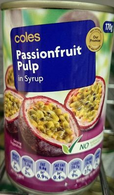 Passionfruit Pulp in Syrup - Product