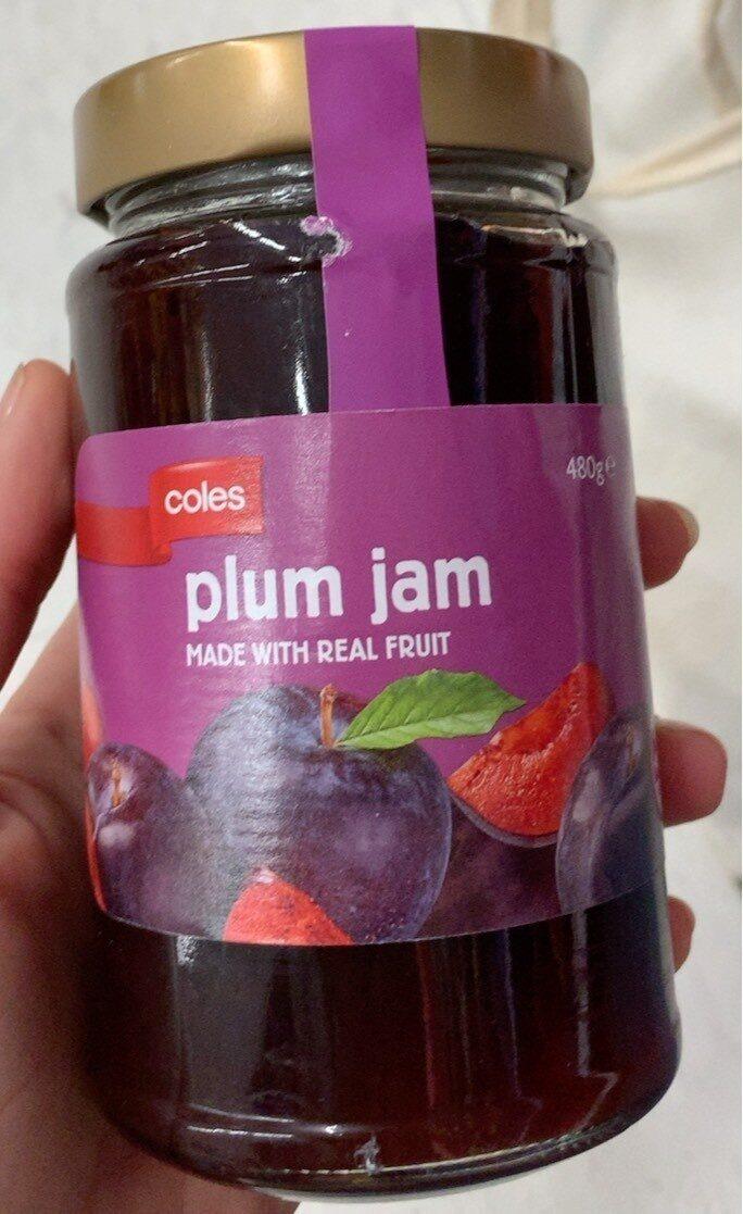 Plum jam - Product - en