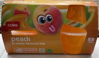 Peach in mango flavoured jelly - Product - en