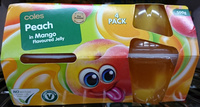 Coles Peach in Mango Flavoured Jelly - Product
