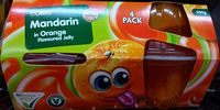 Coles Mandarin in Orange Flavoured Jelly Fruit Cups - Product - en