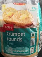Crumpet rounds - Product