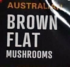 Australian Brown Flat Mushrooms - Ingredients