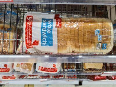 white sandwich - Ingrédients - en