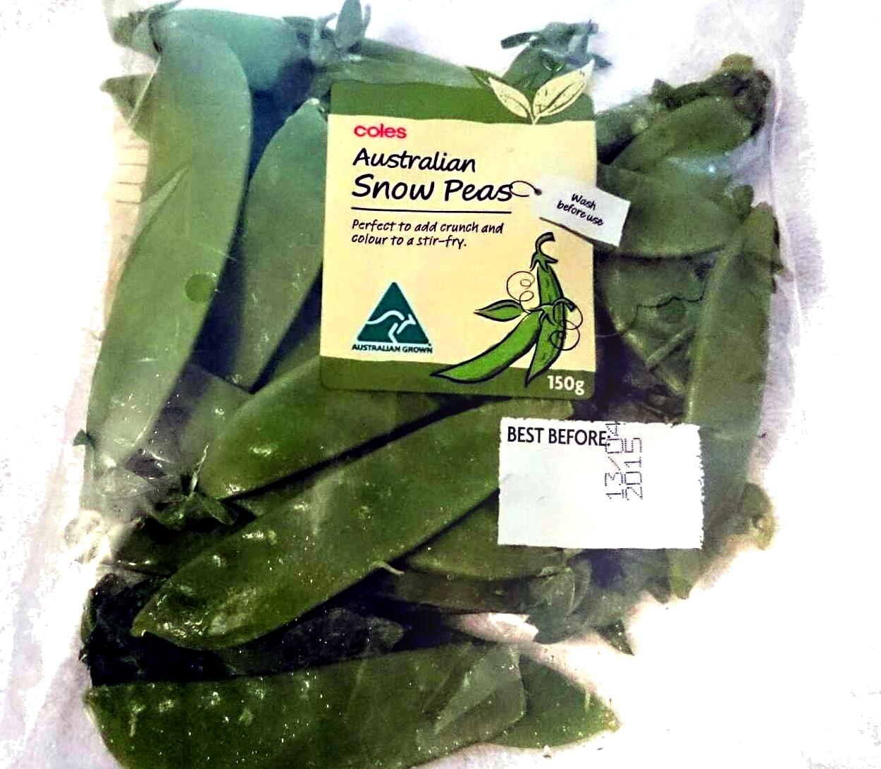 Australian Snow Peas - Product - en