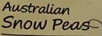 Australian Snow Peas - Ingredients - en