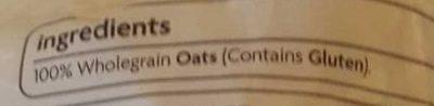 Quick Oats - Ingrédients - en