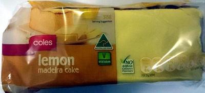Lemon Madeira Cake - Product