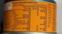 Tuna sweet chilli - Informations nutritionnelles - en