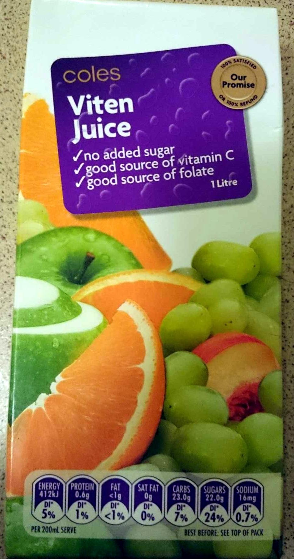 Viten Juice - Product - en