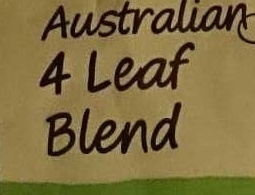 Australian 4 Leaf Blend - Ingredients