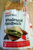 Wholemeal Sandwich - Produit - en