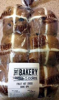 Fruit Hot Cross Buns - Product