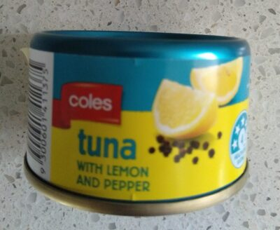 Coles Tuna with Lemon and Pepper - Product