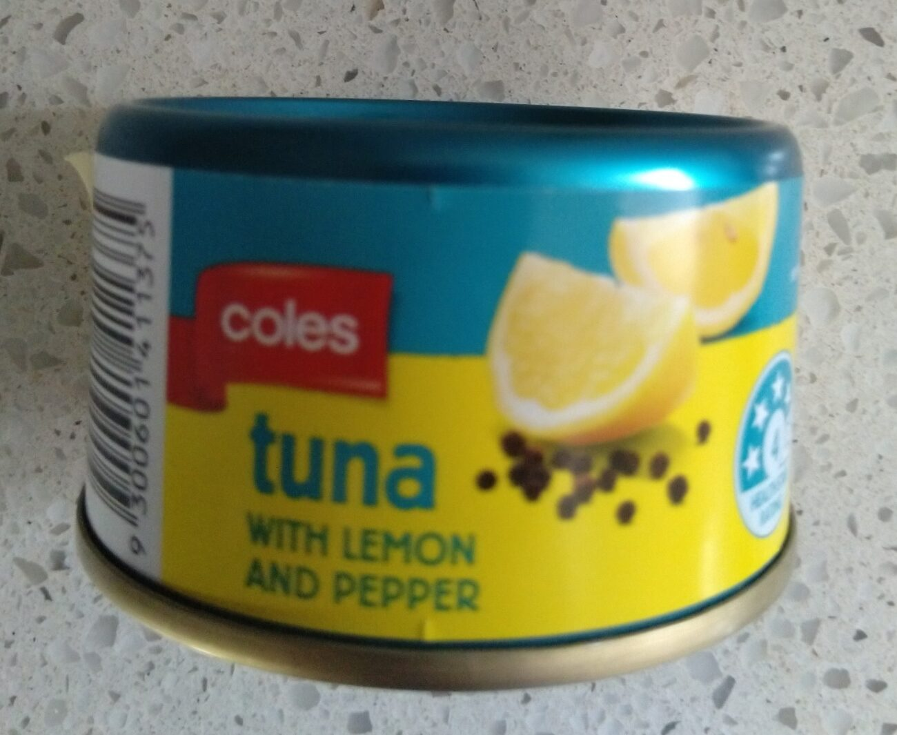 Coles Tuna with Lemon and Pepper - Product - en