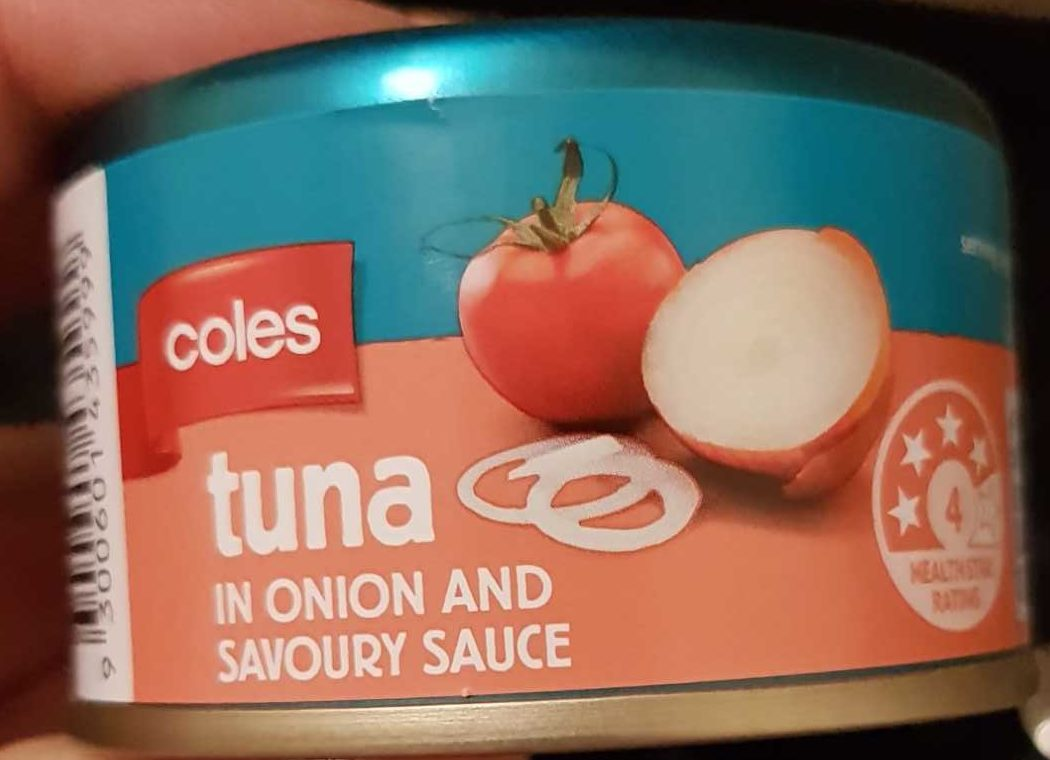Tuna in Onion and Savoury Sauce - Product