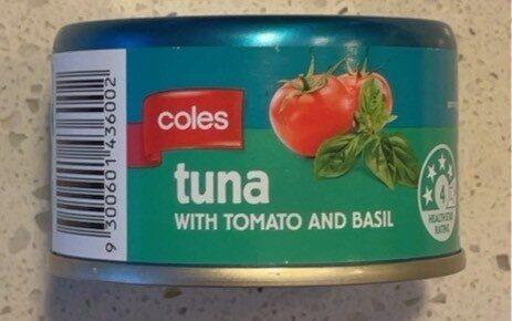 Tuna - Tomato & Basil - Product - en