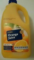 Coles Orange Juice - Product - en