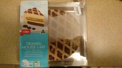 Tiramisu mousse cake - 1