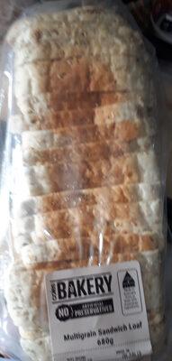 Multigrain Sandwich Loaf - Product