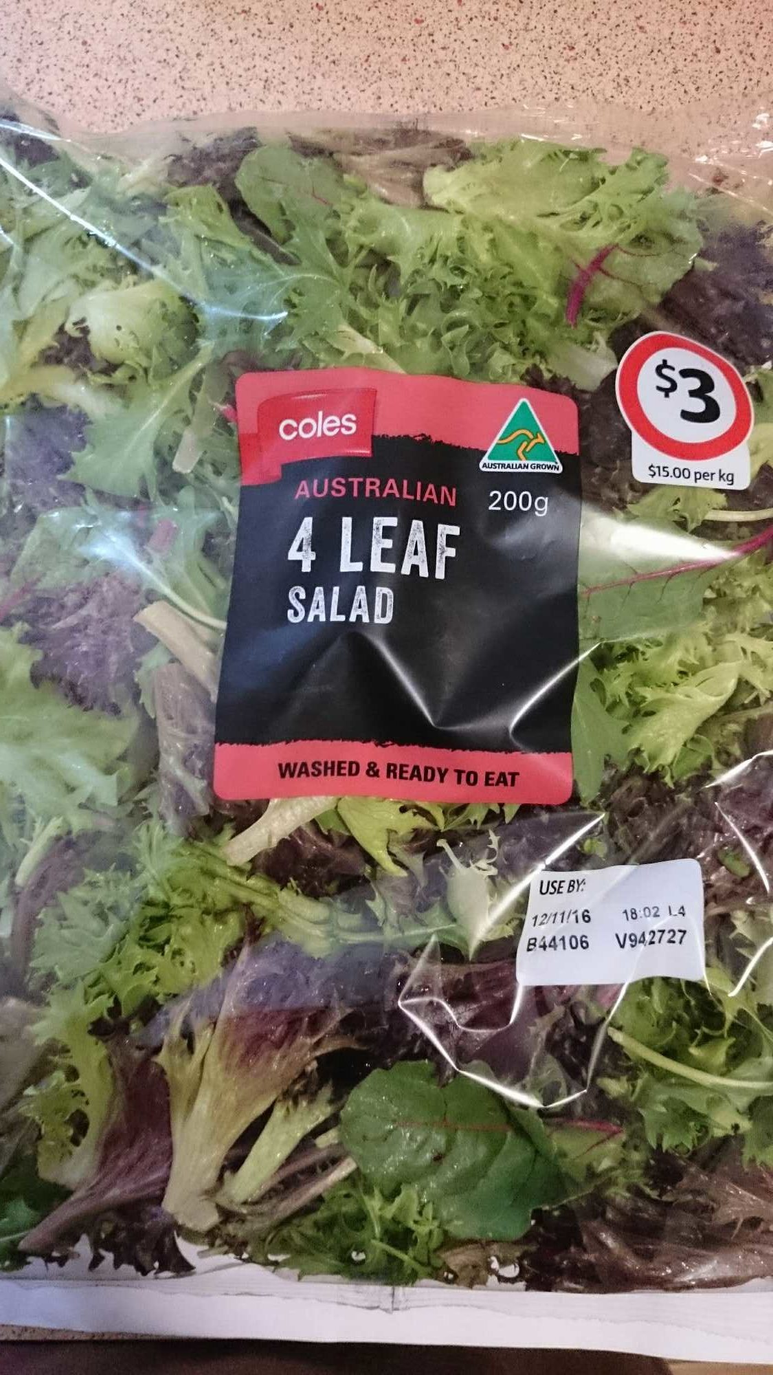 4 leaf salad - Product