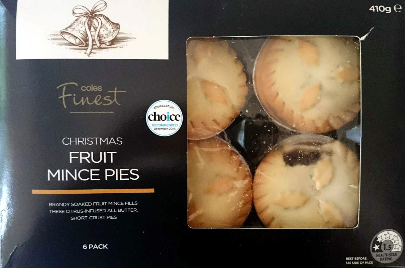 Christmas Fruit Mince Pies - Product - en