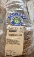 High in fibre sandwich loaf - Product - en
