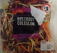 Coles Beetroot Coleslaw - Product - en