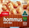 Hommus Mini Dips - Produit