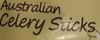 Australian Celery Sticks - Ingredients