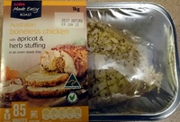 Australian Boneless Chicken with Apricot & Herb Stuffing - Product - en